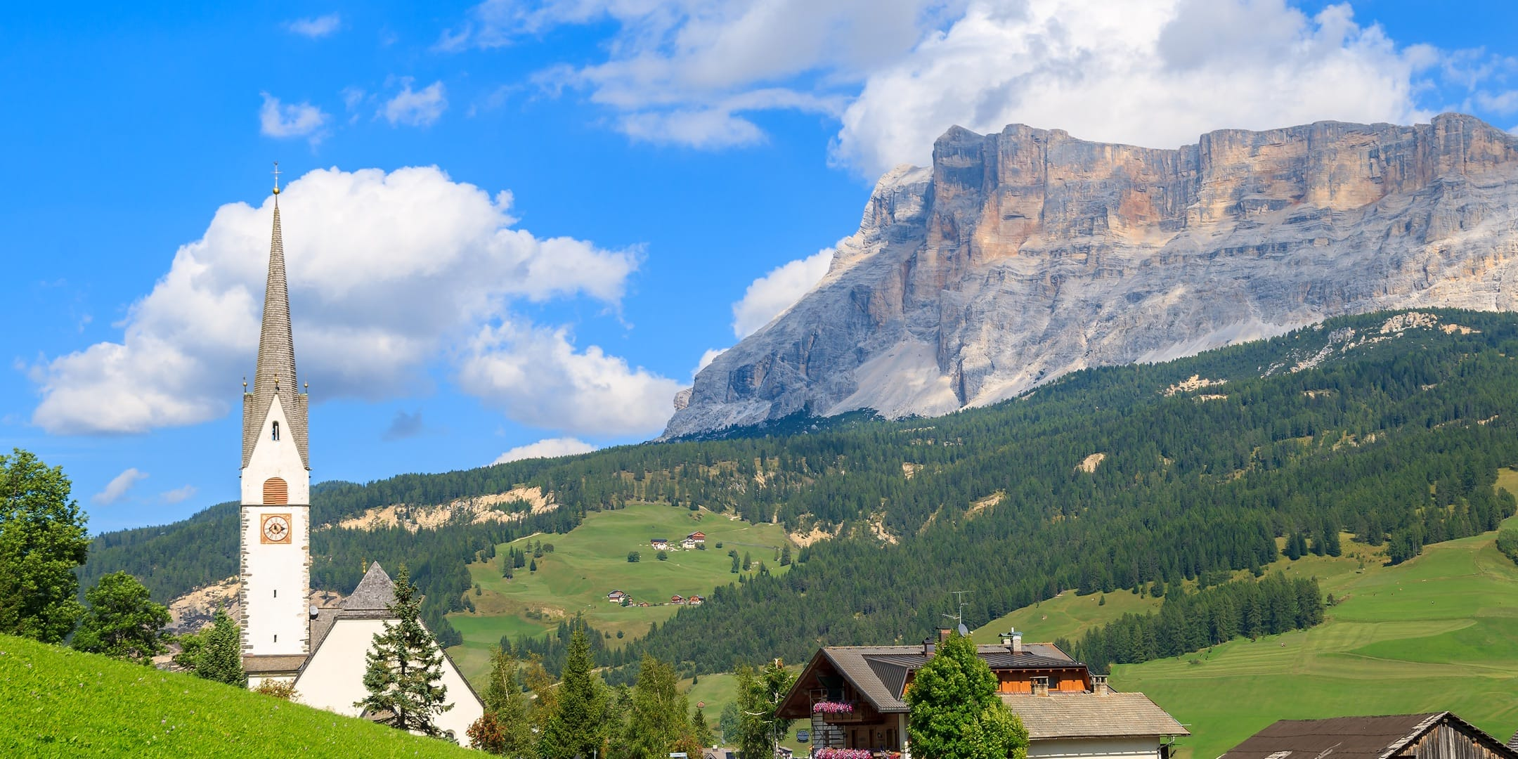 Residence a La Villa Alta Badia Dolomiti - Les Contrades